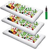Inflatable Serving Bar Cooler with Drain Plug (Set of 3)