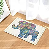 NNAYD1996 Böhmischer Boho Elefant Dekoration Stammes ethnischer Wachsmalstift Elefant für Kind...