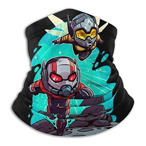 Ant Man and W-asp Neck Warmer Scarf Unisex Soft Windproof Novelty Headband for Sports Hiking-one_Color-