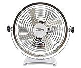 QILIVE Ventilador de mesa Q.5518 888296 Blanco