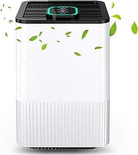 comprar comparacion Purificador de Aire 4 en 1 con Filtro HEPA, Limpiador de Aire Doméstico con Indicador y Temporizador, Captura Alergias, Po...
