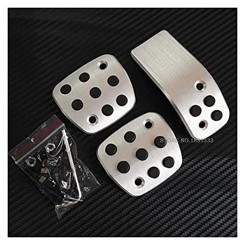 ZHANGJIN Accessori per Auto Accessori Acceleratore Clutck Pedale Adatta per Peugeot 206 CC 206CC Manuale MT Std Sticker Styling Plate Pad Std
