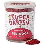 Super Garden Polvere di barbabietola rossa liofilizzata - 100% Puro e naturale - Adatto ai vegani -...