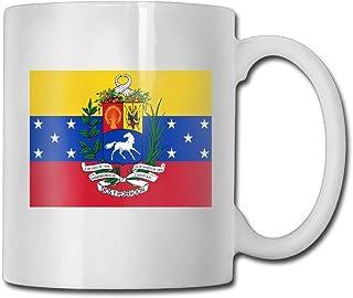Daawqee Tazas Coffee Mug Flag Of Venezuela Mugs Cool Ceramic Coffee Tea Cups Double-side Printing 11oz