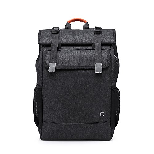 Travel Laptop Backpack, Laikwan Business Bag, Daypack School Racksack for Women & Men Fits 15'6 inch Notebook(Black)