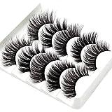 Werstand Falsche Wimpern Magnetische Falsche Wimpern 3DDoppelmagnete Weich Und Bequem Einfach Zu...