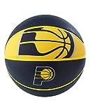 Spalding NBA Indiana Pacers NBA Courtside Team Outdoor Rubber Basketballteam Logo, Navy, 29.5'