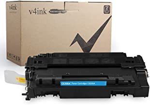 V4INK Compatible Toner Cartridge for HP 55A CE255A Toner Ink Using with HP LaserJet P3010 HP P3015 P3015d P3015dn P3015n P3015x, HP Enterprise 500 MFP M521dn M521dw M525c M525dn M525f Printer