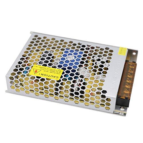 Daxpoo Tira De Led Fuente De Alimentación 24v Voltio 250W Raya Transformador Iluminación Controlador DC Adaptador (CPS250-DP24)