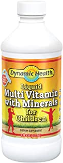Dynamic Health Multi-Vitamin with Minerals for Children. 8-Ounce