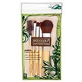 Authentic Organic Natural EcoTools BAMBOO Starter Makeup Brush Set Eco Tools Make up (6 piece starter brush)