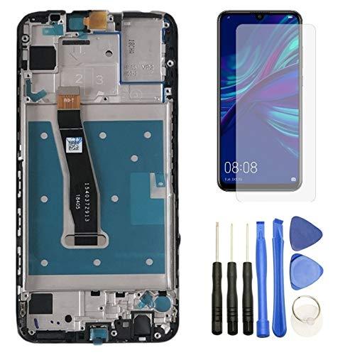 Hypak Pantalla IPS LCD para Huawei P Smart 2019 (Completa con Marco) Repuesto Cristal Tactil Digitalizador (Negro)