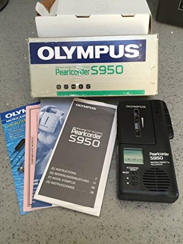 Olympus Diktiergerät Pearlcorder S950 für Microcassette