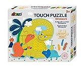 Avenir 6305057 - Puzzle para niños a Partir de 3 años, 4 x 4 Piezas, diseño de Dinosaurios