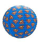 DC Comics Superman Lampe en papier avec logo