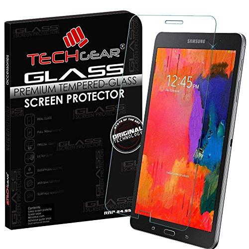 TECHGEAR Vidrio Compatible con Galaxy Tab Pro 8.4 Pulgada (SM-T320 / SM-T321 / SM-T325) - Auténtica Protector de Pantalla Vidro Templado