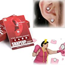 1Pair Eyesight Slimming Healthy Stimulating Acupoints Stud Earring Bio Magnetic Therapy Weight Loss Earrings Magnet in Ear
