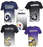 New Era Oakland Raiders Tee/T Shirt NFL Gradient Tee Black - 4XL