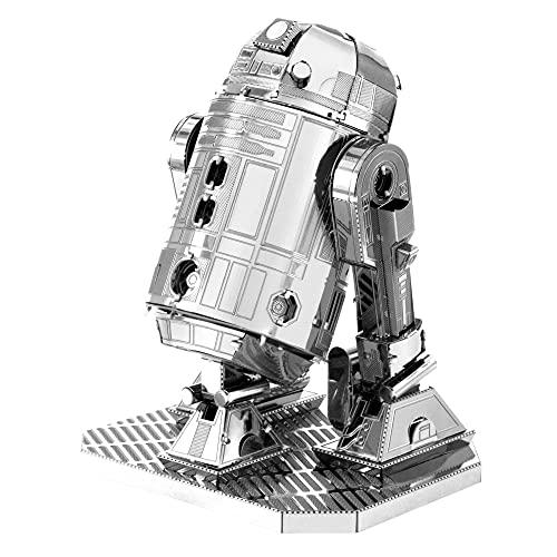 Fascinations MMS250 - Metal Earth 502660 - Star Wars R2-D2, lasergeschnittener 3D-Konstruktionsbausatz, 2 Metallplatinen, ab 14 Jahren
