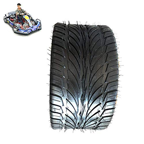 HTZ-M Neumáticos de Scooter eléctrico, neumáticos sin cámara 205/30-12, Resistentes al Desgaste y Antideslizantes, adecuados para Accesorios de neumáticos de Motocicleta de Kart/ATV/Cuatro Ruedas