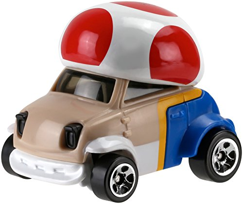 Voiture Hot Wheels Super Mario - Toad - Mattel