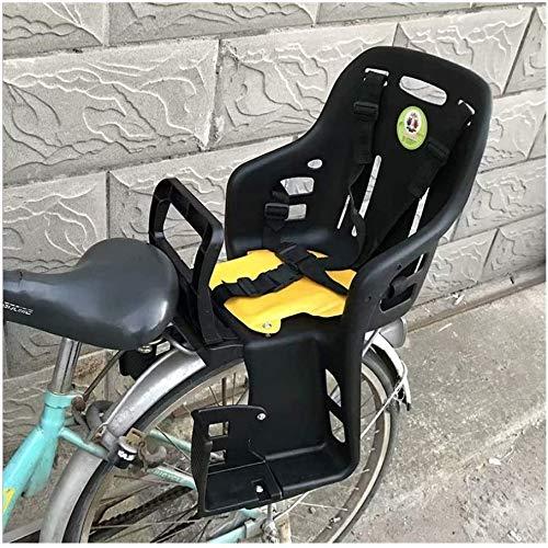 GYR Bike Child Seats, Bike seat for Toddler, Bike seat for Kids on Adult Bike, Children Bike Seat Bicycle Back Seat Adjustable Child Bike Carrier Seat for Bicycle MTB Road Bike (Black)