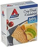Atkins Low Carb, High Fibre Crispbread, Multipack 100 g (Pack of 6)