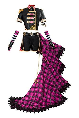 Disfraz para mujer Love Live! Sunshine!! Sakurauchi Riko Punk Rock para cosplay, talla S