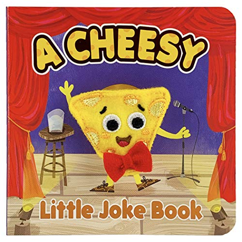 A Cheesy Little Joke Book (Finger Puppet Board Book)