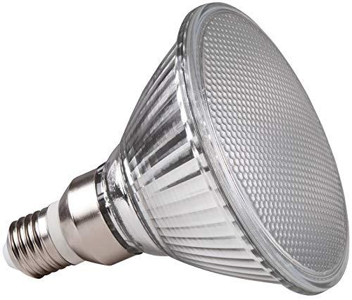 Müller-Licht LED Reflektorlampe PAR38 - 15 W ersetzt 75 W - E27 - warmweißes Licht - 2700 K - Kunststoff - weiß