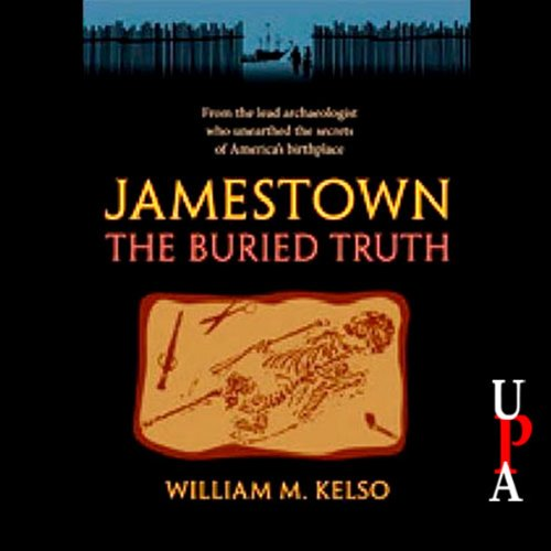Jamestown, the Buried Truth audiobook cover art