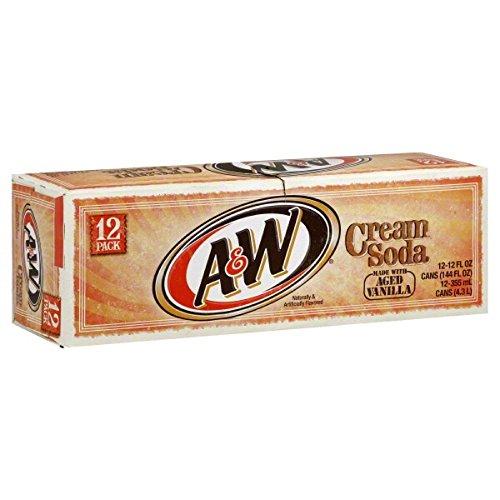 AW Sparkling Vanilla Cream Soda