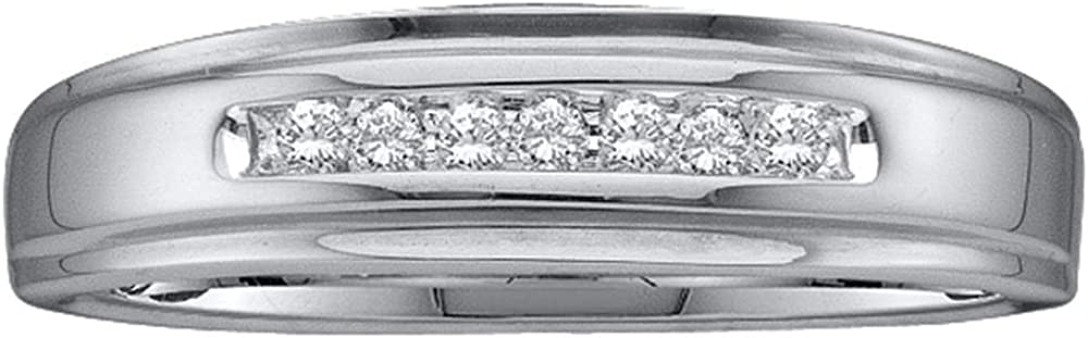 Sonia Import Jewels 10K Yellow Gold Diamond Wedding Band Mens - All items in the store Ring w