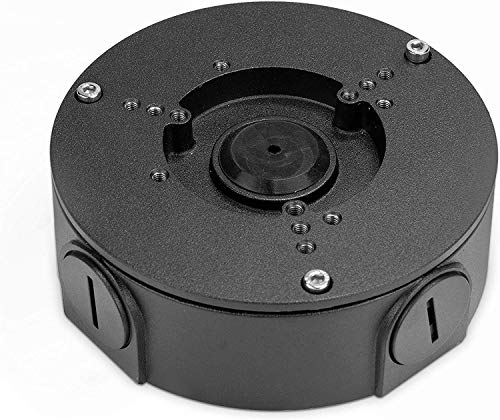 Amcrest AMCPFA130-E-B Abzweigdose für Bullet Kameras, kompatibel mit AMC721BC36, AMC1081BC36, AMC1080BC36, IP2M-843EB, IP3M-943, IP3M-954E, IP2M-854E, IP5M-1173E, IP8M-2496EB