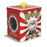Natives 211245 Boîte à Bonbons avec Fenêtre, Métal, Multicolore, 12,5 x 12,5 x 14,5 cm