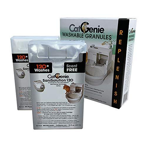 CatGenie 2+1 Combo Scent Free