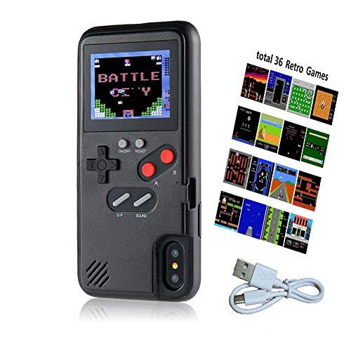 Handheld Gameboy Case for iPhone 8 Plus, Retro Game Case for iPhone 7 Plus, Game Console Case for iPhone 6P/6SP/7P/8P