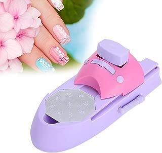 Nail Art Printer, Nail Art Stamping Professional Nail Art DIY Pattern Portable Printing Machine Stamper Nail Printer Manicure Tools Nail Colors Stamper Machine Set With 6 Pattern Palettes