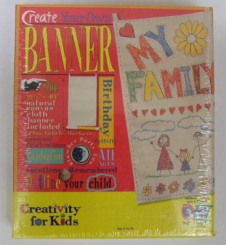 Creativity For Kids Philadelphia Mall Ranking TOP16 Create Your Set Own Banner