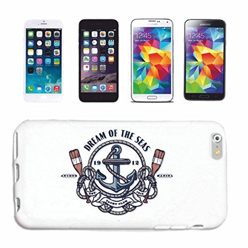 Helene Handyhülle kompatibel für Samsung Galaxy S8 Dream of The SEA Yacht Club Marine Segelschiff Piratenschiff RETTUNGSSCHIFF Anker Skull Pirat SEGELBOOT SE