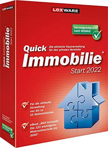 QuickImmobilie Start 2022: Für die einfache Vermietung von bis zu 10 Einheiten.