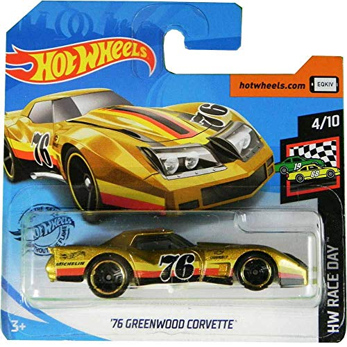 FM Cars Hot-Wheels´76 Greenwood Corvette HW Race Day 4/10 2020 34/250