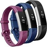 Onedream Compatible para Fitbit Alta HR Correa/Alta Strap/Ace Pulsera Mujer Hombre Recambio Silicona Correa 3 Pack