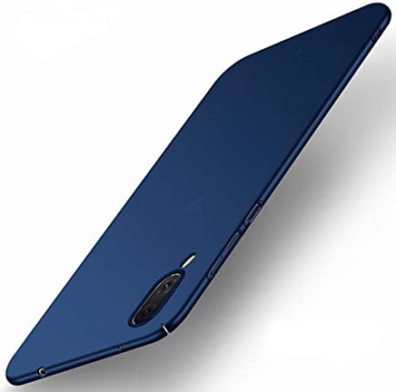 TheGiftKart Ultra Slim 360* Matte Velvet Feel Hard Back Case Cover with Camera Protection Bump for Vivo V11 Pro (Blue)