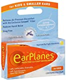 EarPlanes Ear Plugs Kid's Small Size 1 Pair (Pack of 7)