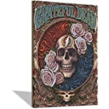 The Grateful Dead Return to The Garden poster canvas prints wall art poster painting for living room decorations Frame-X1 12×18inchs(30×45cm)