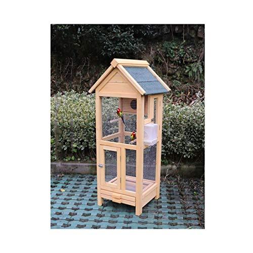 Jaula dpájaros duradera y ecológica, Jaulas de pájaro al aire libre budgerigar...