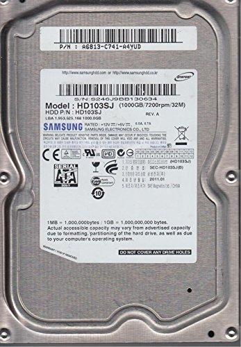 HD103SJ, HD103SJ, REV A, Samsung 1TB SATA 3.5 Festplatte