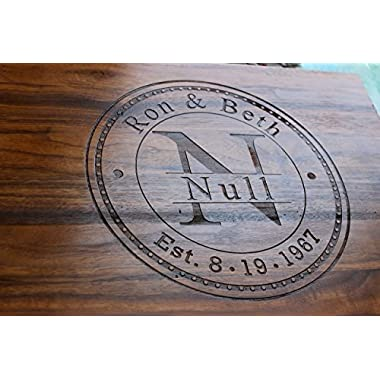Personalized Cutting Board - Anniversary Gift - Wedding Gift