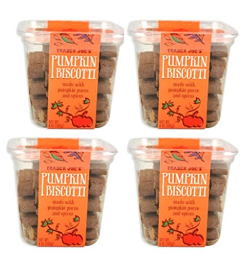 Trader Joe's Pumpkin Biscotti Pack online shopping Container 4 Manufacturer OFFicial shop of